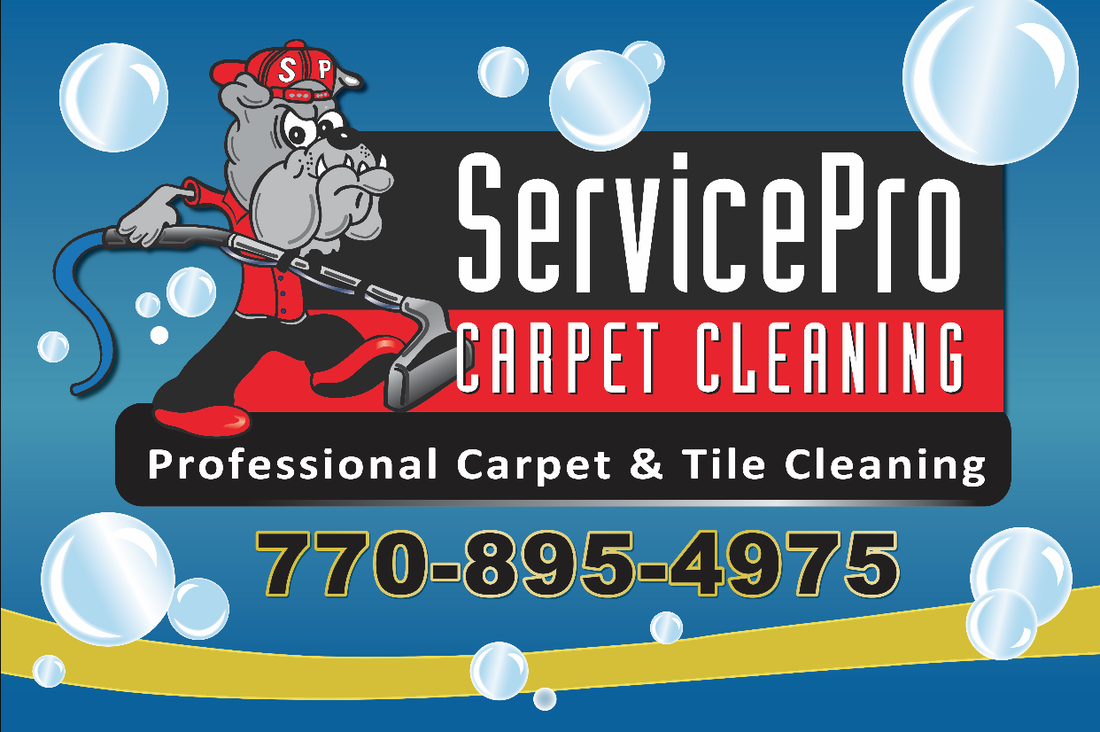 ServicePro Carpet Cleaning Logo